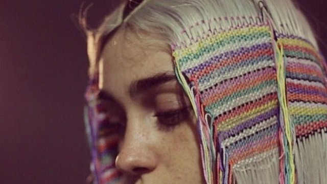 hair tapestry #2